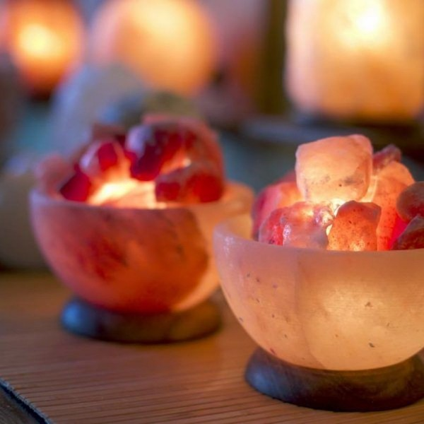 Light Bowl Pink Himalayan Salt Lamp