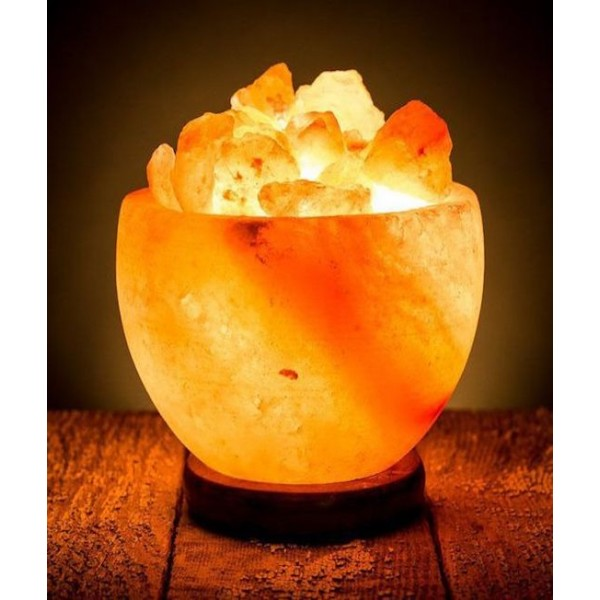 Fire Bowl Pink Himalayan Salt Lamp 7 Kg