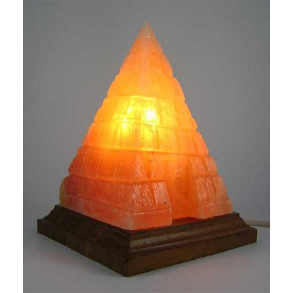Pink Egyptian Pyramid Himalayan Salt Lamp L 5 Kg